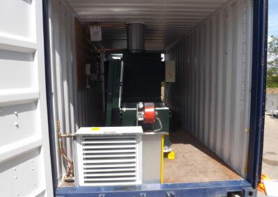 Containeriserad brännare